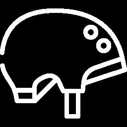 Rental helmets